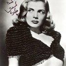 LIZABETH SCOTT   Autographed Signed 8x10 Photo Picture REPRINT