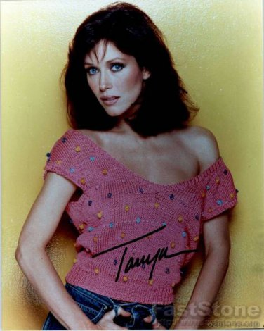 TANYA ROBERTS  Autographed Signed 8x10 Photo Picture REPRINT