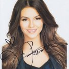 VICTORIA JUSTICE  Autographed Signed 8x10 Photo Picture REPRINT
