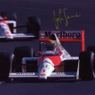 AYRTON SENNA Autographed signed 8x10 Photo Picture REPRINT