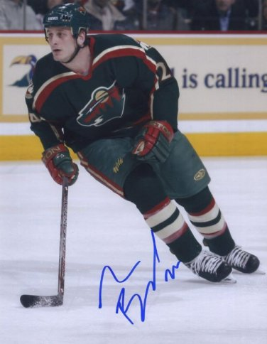 DEREK BOOGAARD Autographed signed 8X10 Photo Picture REPRINT