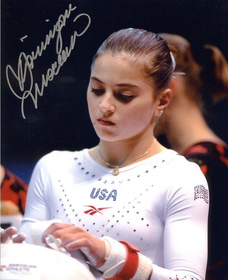 DOMINIQUE MOCEANU Autographed signed 8X10 Photo Picture REPRINT