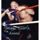 GEORGE THE ANIMAL STEELE Autographed signed 8X10 Photo Picture REPRINT