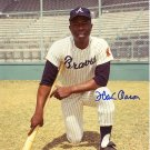 HANK AARON Autographed signed 8x10 Photo Picture REPRINT