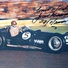 J.F.GONZALES  Autographed signed 8x10 Photo Picture REPRINT