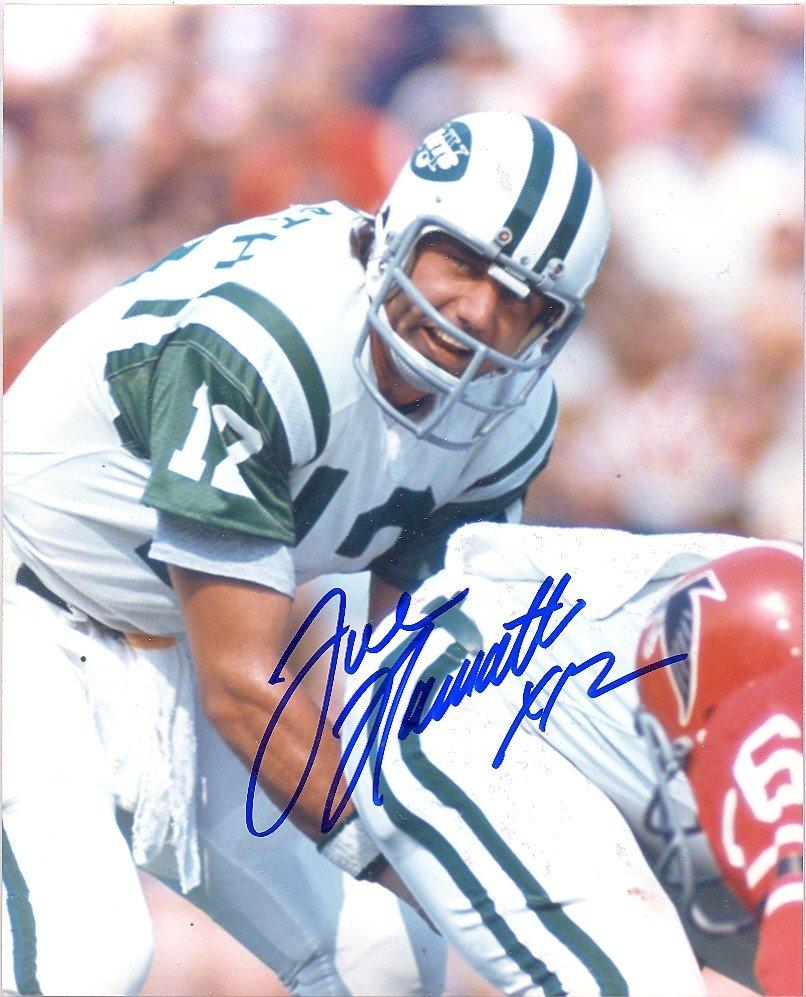 JOE NAMATH Autographed signed 8x10 Photo Picture REPRINT