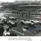 JUAN MANUEL FANGIO Autographed signed 8x10 Photo Picture REPRINT