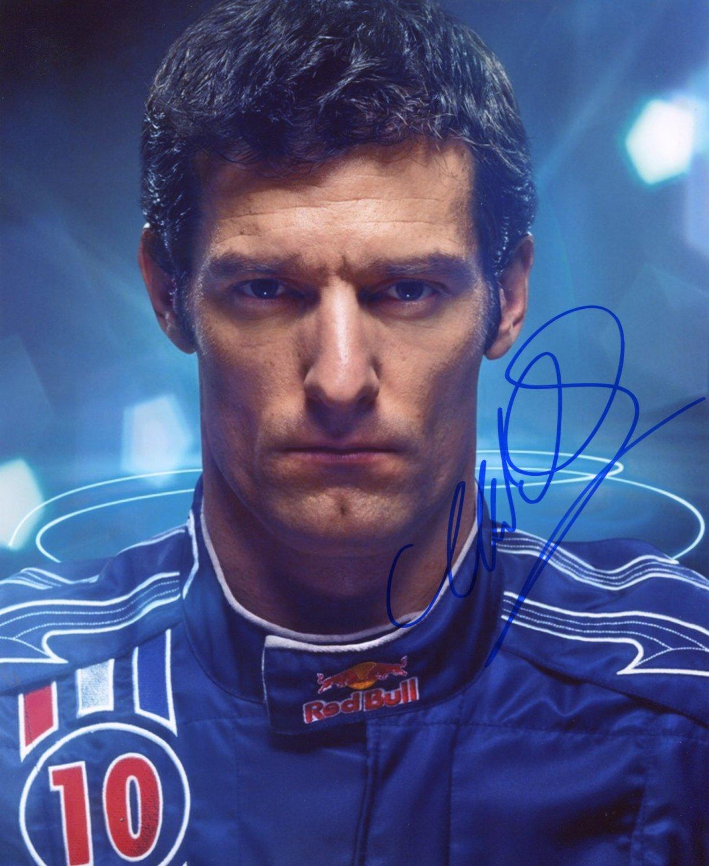 MARK WEBBER Autographed signed 8x10 Photo Picture REPRINT