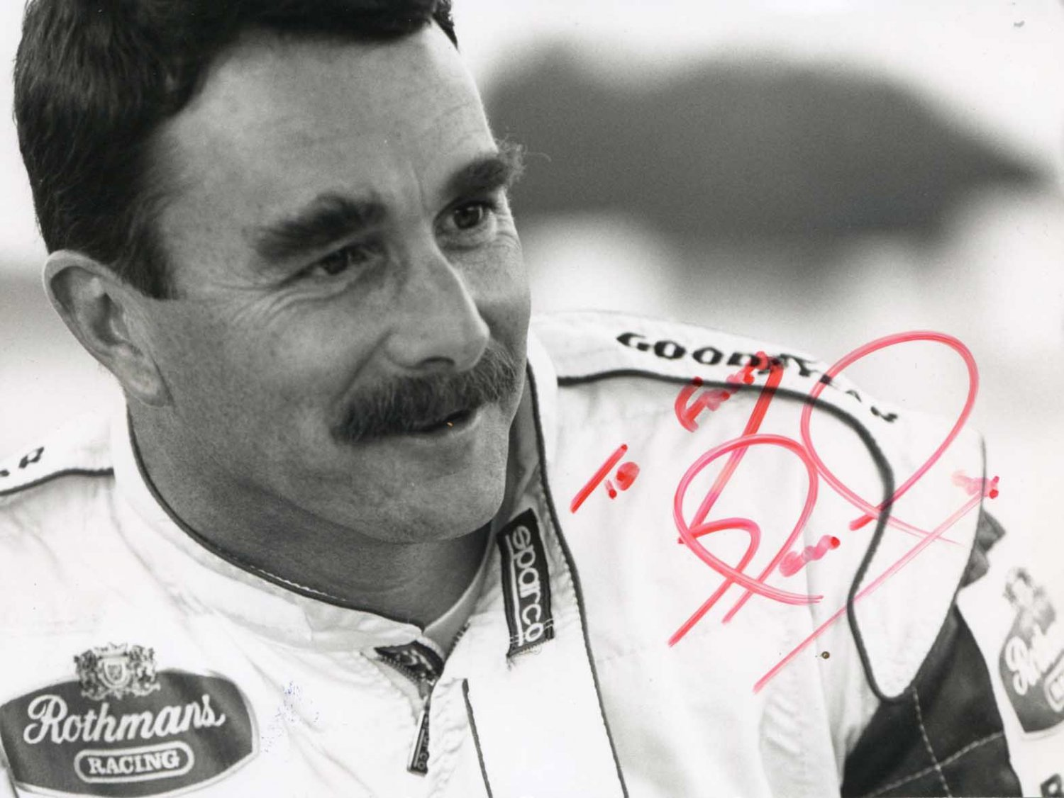 NIGEL MANSELL Autographed signed 8x10 Photo Picture REPRINT