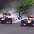 RED BULL 2010 Autographed signed 8x10 Photo Picture REPRINT