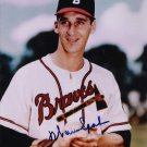 WARREN SPAHN Autographed signed 8x10 Photo Picture REPRINT