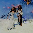 JOHNNY DEPP & KEIRA KNIGHTLEY Autographed signed 8x10 Photo Picture REPRINT