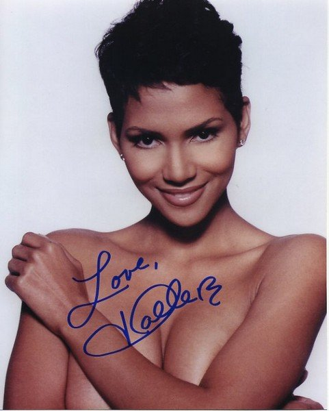 HALLE BERRY Autographed signed 8x10 Photo Picture REPRINT