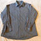 New CALVIN KLEIN Long Sleeve Casual Shirt Size XL