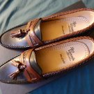 New Original ALLEN EDMONDS Maxfield 9.5  black/brown Made in USA Loafers Shoes