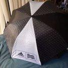 "100% Authentic New ADIDAS Sport Huge 58""AUTOMATIC FOLDABLE Umbrella Black/White"