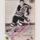Original LEO LABINE Autographed NHL Ultimate 2.5x3.5 Card w/COA