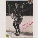 Original JIM NEILSON Autographed NHL Ultimate 2.5x3.5 Card w/COA