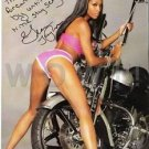 Original Adult Porn Star GIANA TAYLOR Signed Autographed 8X10 Photo Pic wCOA