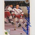 Original HARRY HOWELL Autographed NHL Ultimate 2.5x3.5 Card w/COA