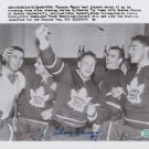 Original JOHNNY BOWER NHL Signed Autographed 8X10 Photo Picture w/COA