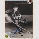 Original JOHN WILSON Autographed NHL Ultimate 2.5x3.5 Card w/COA