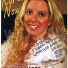 Original Adult Porn Star KARA NOX Signed Autograph 8X10 Photo Pic wCOA