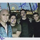 Original VERTICAL HORIZON Signed Autographed by 3  8X10 Photo Picture w/COA