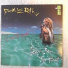 "DAVID LEE ROTH of VAN HALEN Signed Autographed ""Crazy From the HEAT"" EP w/COA"