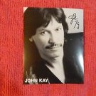JOHN KAY of STEPPENWOLF Original Signed Autographed 8X10 Photo Picture w/COA