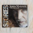 "Legendary JOHN MAYALL & The BLUESBRAKERS Signed Autographed  ""STORIES"" CD w/COA"