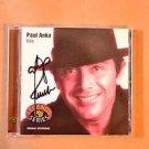 "PAUL ANKA Signed Autograph  ""LIVE"" CD w/COA"
