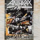 ANTHRAX Signed Autographed by 5 (EXTREMELY RARE !!!!!) DVD w/COA