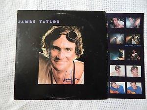 "JAMES TAYLOR Signed Autograph ""DAD LOVES HIS WORK"" VINYL  LP w/COA"