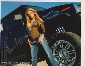 Original Adult Porn Star RENEE RAFFERRY Signed Autographed 8X10 Photo Pic wCOA