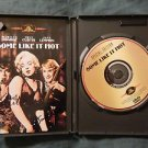 SOME LIKE IT HOT Signed Autographed by JACK LEMMON & TONY CURTIS DVD