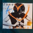 "JANET JACKSON Signed Autographed  ""Runaway'' CD w/COA"