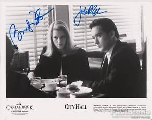 BRIDGET FONDA  JOHN CUSACK Original Autographed Signed  8x10 Photo Picture w/COA