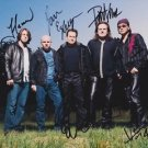 SPOCK'S BEARD Original Autographed Signed by all 5  8x10 Photo Picture w/COA