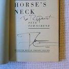 "PETE TOWNSHEND The WHO Autographed Signed Book ""Horse's Neck"" w/COA+ FREE Bonus!"
