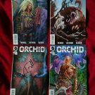TOM MORELLO of AUDIOSLAVE Signed  ORCHID Comic Books Set of  all 4 + FREE Bonus