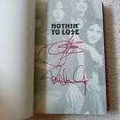 "GENE SIMMONS PAUL STANLEY KISS ""Nothing To..""Autographed Signed BOOK+Free BONUS"