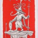 """ORIGINAL Lithograph Hand Signed SALVADOR DALI """"Les Songes .... de Pantagruel"""""""