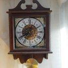 Original ENDURA Made in JAPAN 31 Day RA Pendulum GONG Wood WALL Clock MINT