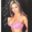 Porno Adult Star AVY SCOTT Autographed signed 8x10 Photo Picture REPRINT