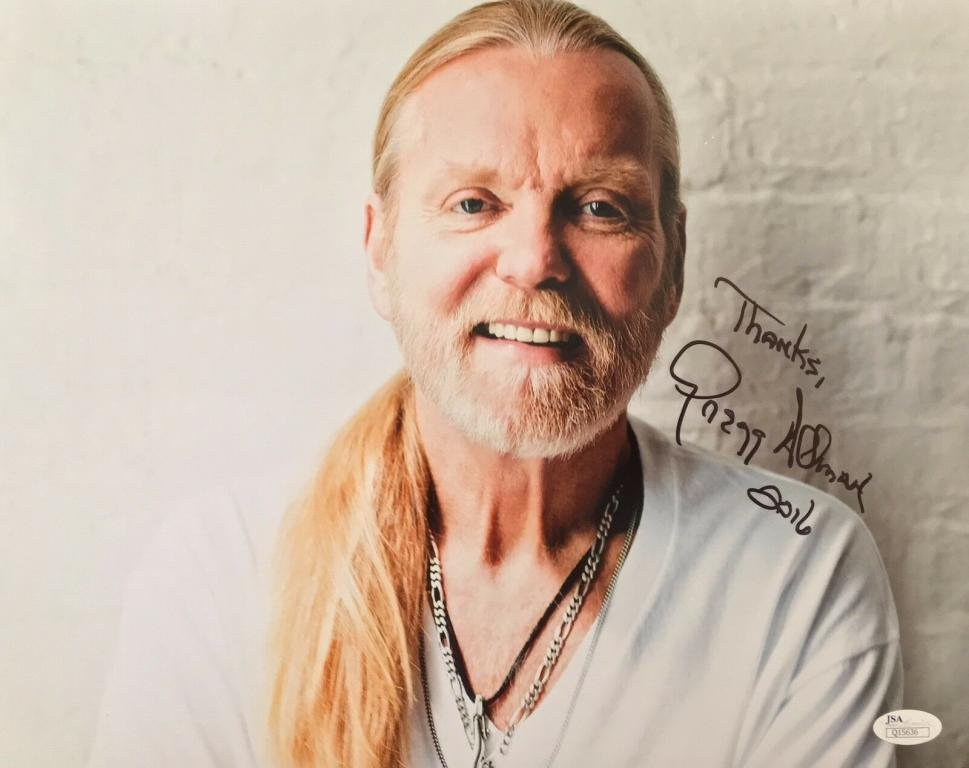 GREGG ALLMAN BROTHERS Autographed signed 8x10 Photo Picture REPRINT