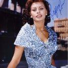 Gorgeous  SOPHIA LOREN  Signed Autograph 8x10  Picture Photo REPRINT
