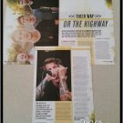 Our Last Night 3 Page Article/Clipping