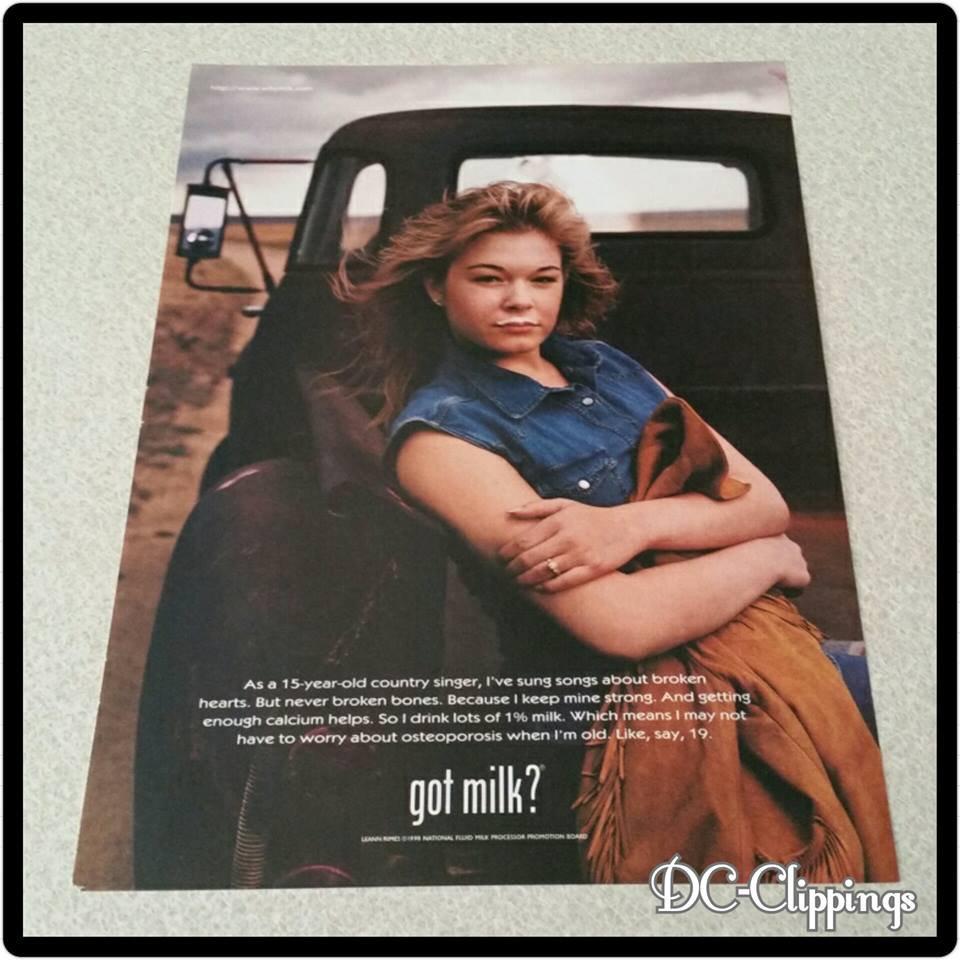Leann Rimes Got Milk? Ad