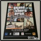 Grand Theft Auto San Andreas Video Game Ad/Clipping